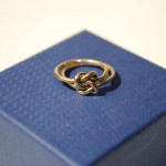 Ian Rosenberg Jeweller - Gold Celtic love knot ring (Copy)